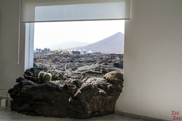 Lanzarote Fuondation César Manrique - Lava window