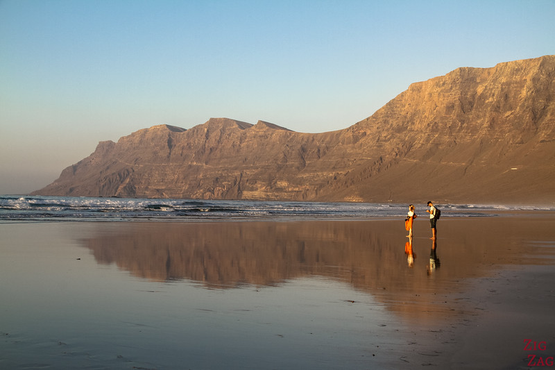 Best lanzarote beach for sunset - Famara