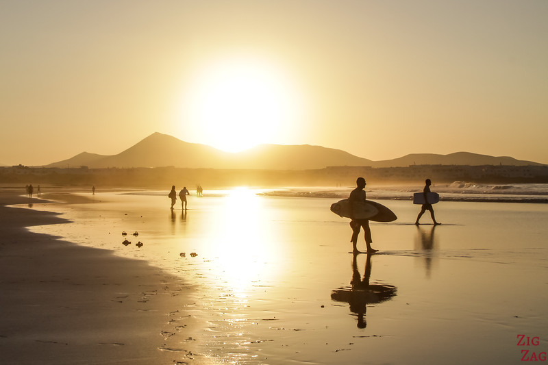 best places to stay in Lanzarote - Famara Beach