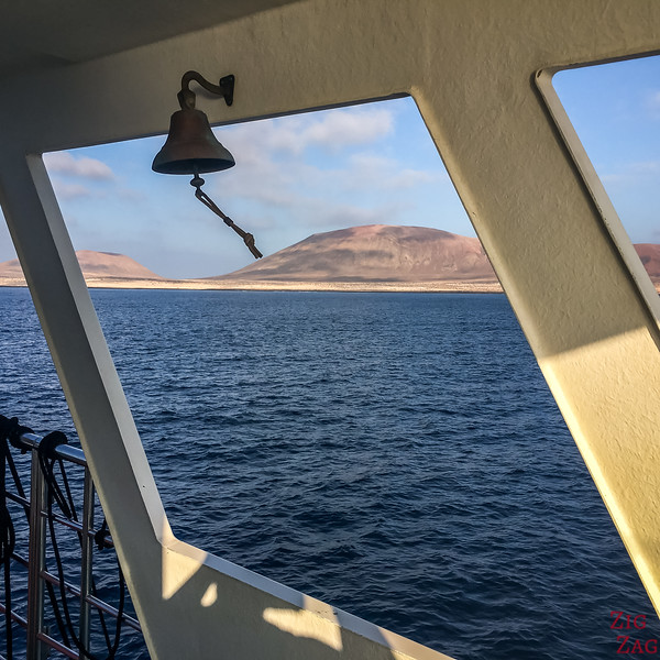 View from Ferry Lanzarote to La Graciosa 2