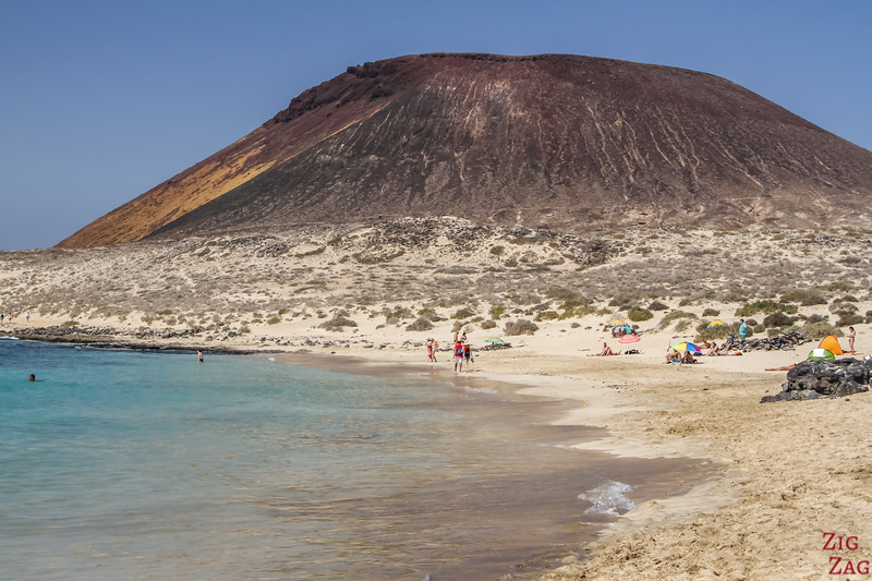 Playa Francesa - La Graciosa plage 2