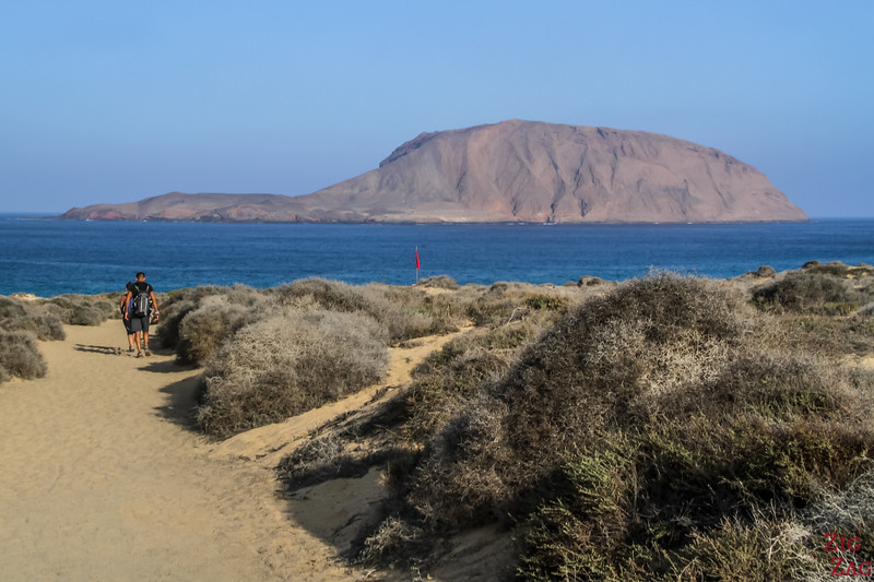 Playa de Las Conchas Beach La Graciosa 1
