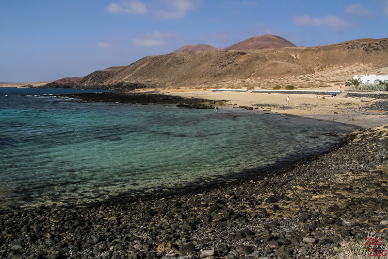 Pedro Barba beach La Graciosa Insel