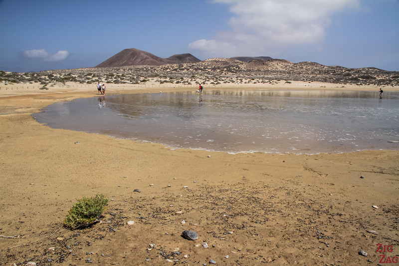 Playa del Salado beach La Graciosa 1