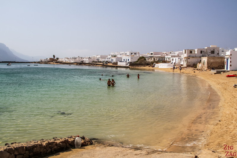 off the beaten path stay in La graciosa