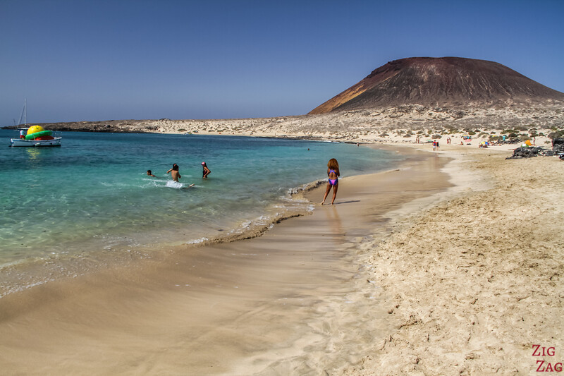La Graciosa Beaches Lanzarote - Playa Francesa