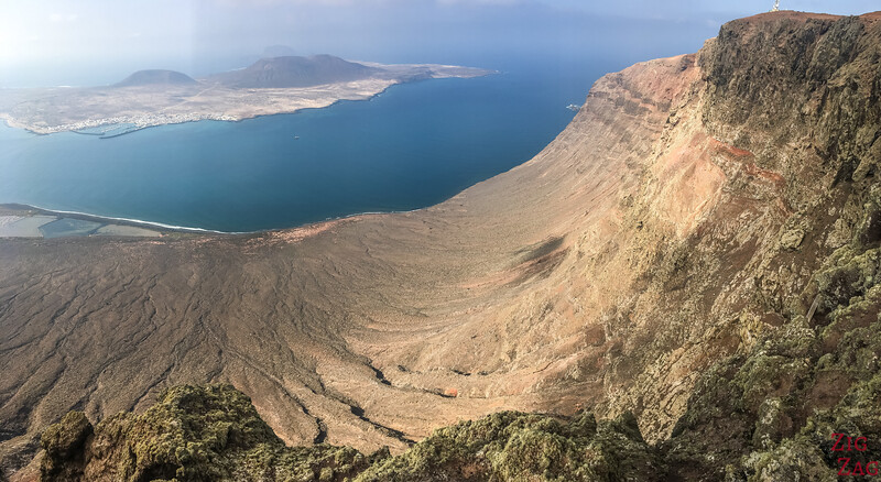 Best places in Lanzarote - Mirador del Rio with the view over La Graciosa