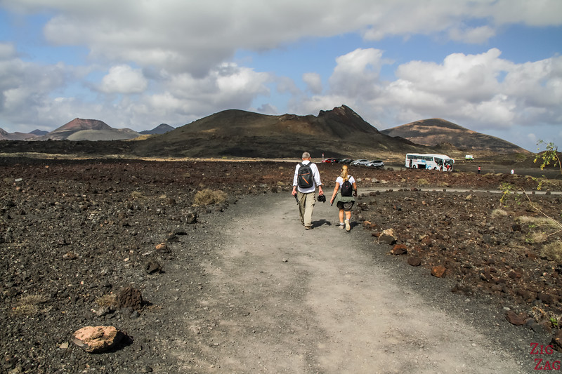 Lanzarote Volcan excursion