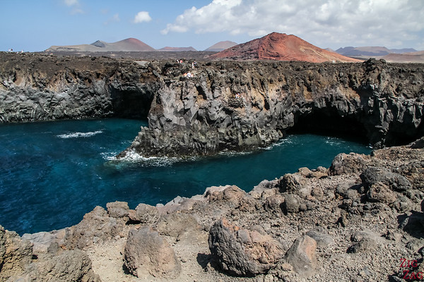 Photographing Lanzarote volcanic features 2