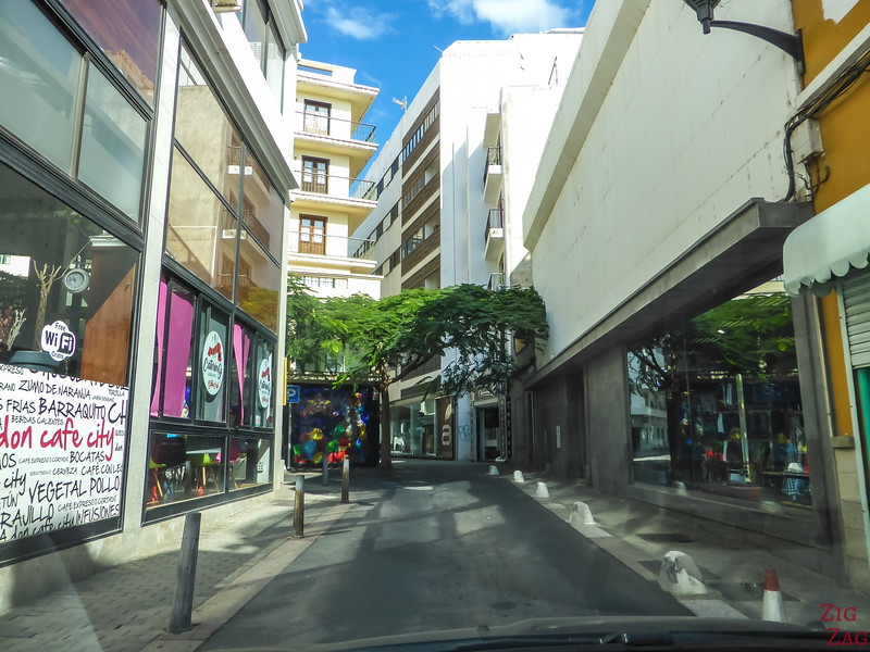 driving in Arrecife