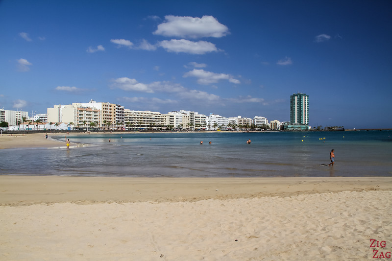 best Beaches in Arrecife Lanzarote