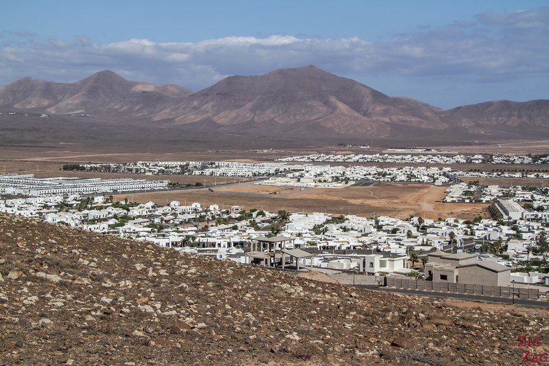 View of Playa Blanca