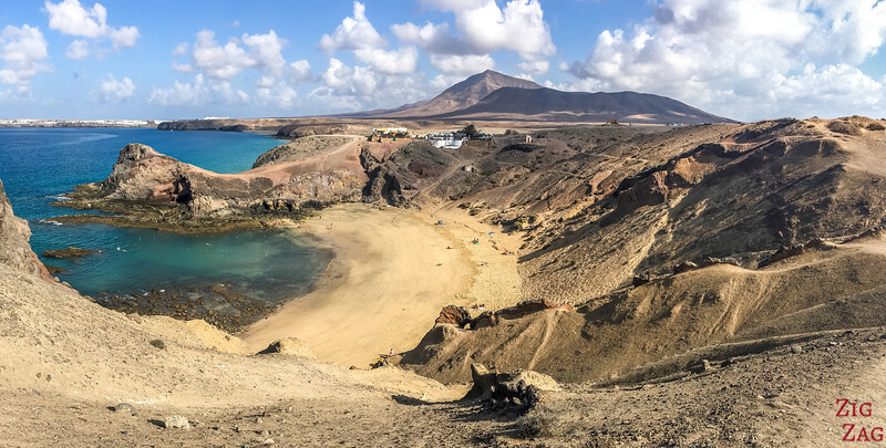 Most Scenic beaches in Lanzarote - playa de Papagayo