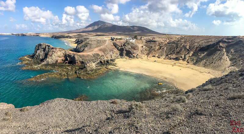 Playa de Papagayo beach Lanzarote picture 1