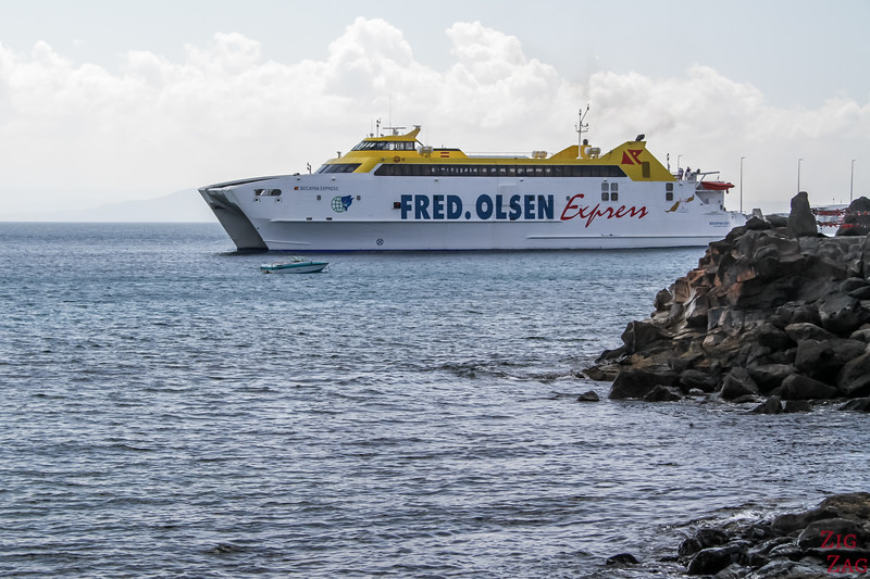 Car Ferry - Lanzarote to Fuerteventura Fred Olsen