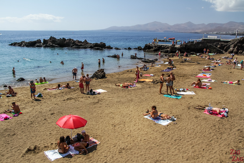 best Beaches in Puerto del Carmen Lanzarote