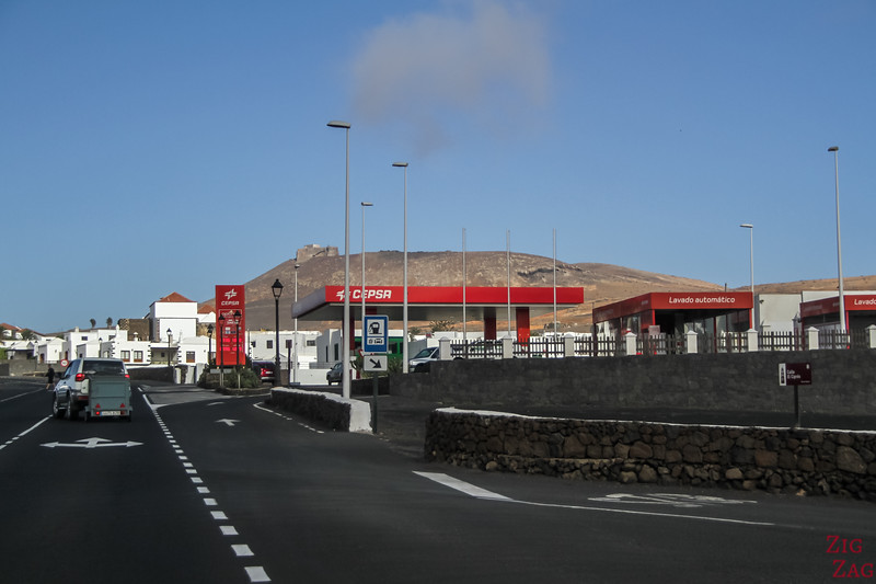 Petrol stations in Lanzarote