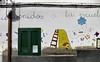 Graffiti art, El Cotillo, Fuerteventura.