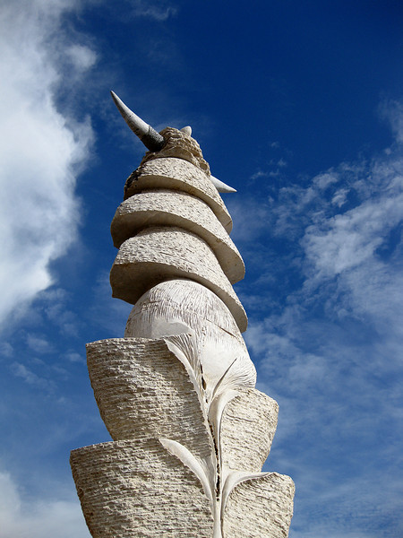 Sculpture, Puerto del Rosario, Fuerteventura.