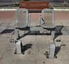 Street exercise machine, Puerto del Rosario, Fuerteventura.