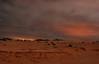 Long exposure night shot near Corralejo, Fuerteventura.