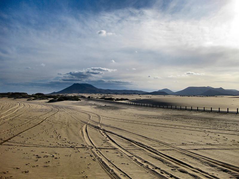 Near Corralejo, Fuerteventura.