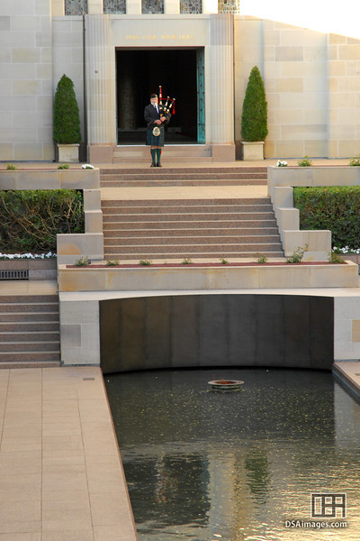 Closing Ceremony at the Australian War Memorial, Canberra