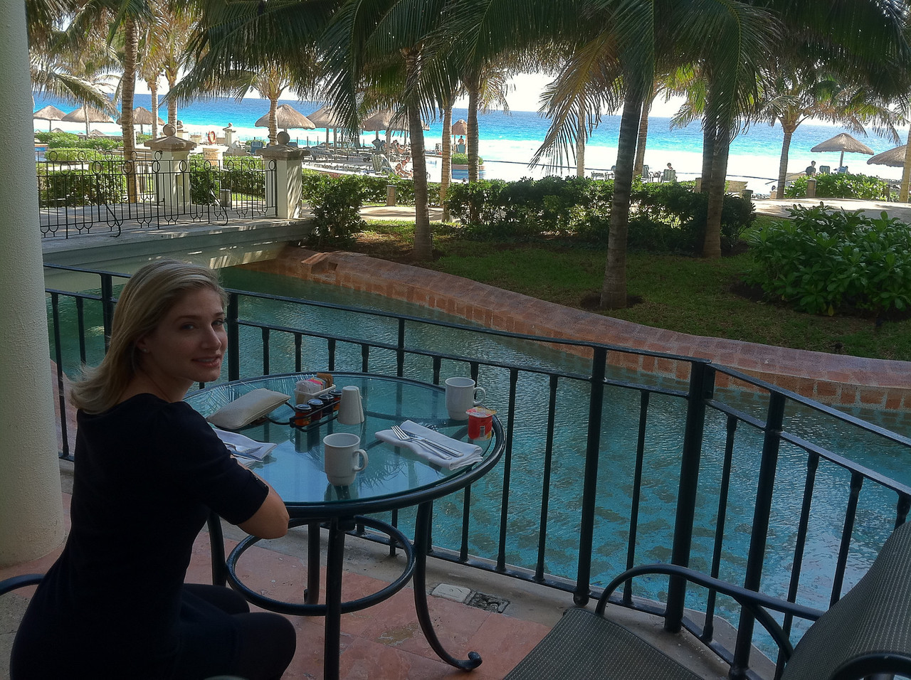 Last breakfast at the JW Marriott.