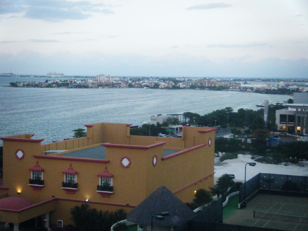 View of Cancun, from the 8th floor, resort
