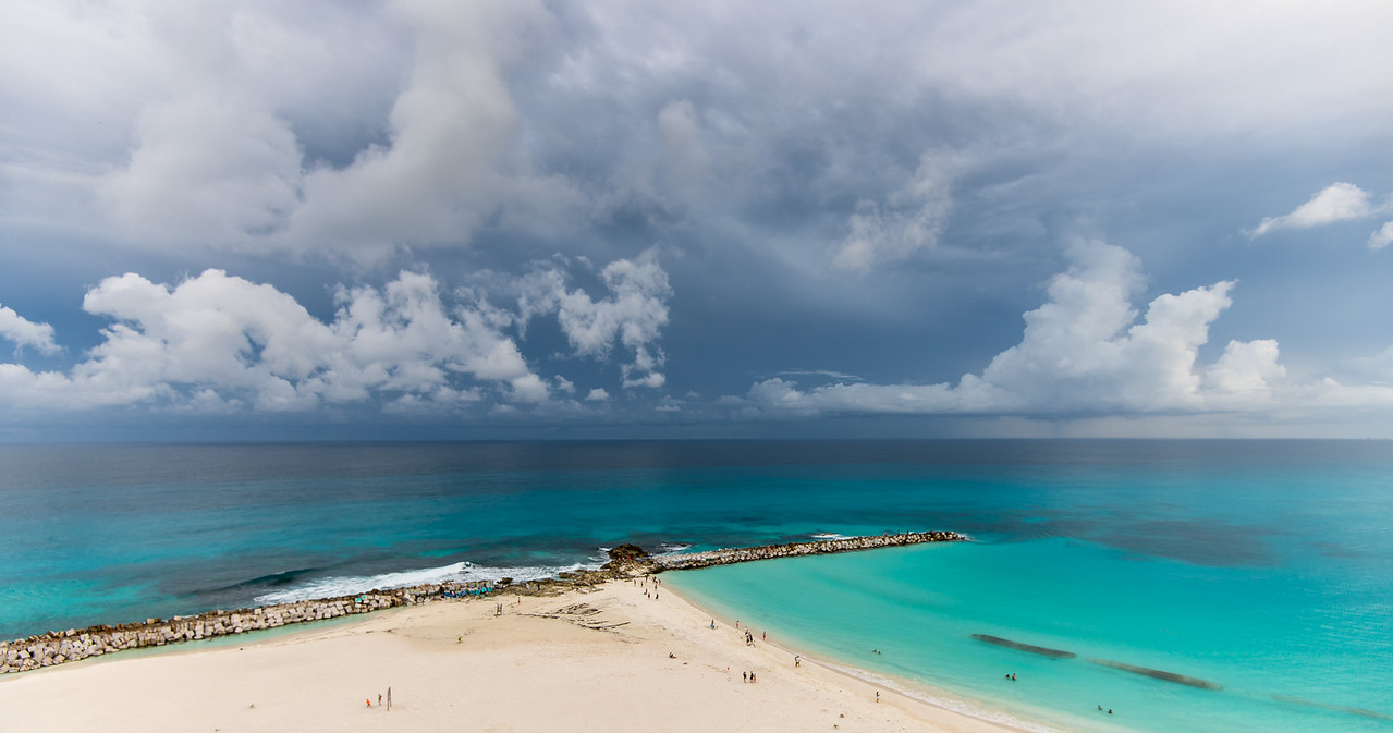View from my room in Cancun, Mexico - December 2015