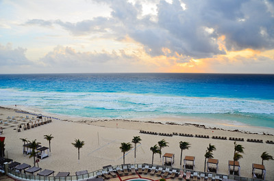 Beach Sunrise at The Royal Cancun