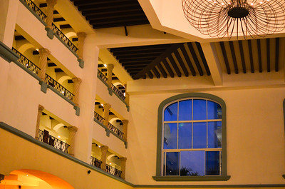 Atrium Balconies at The Royal Cancun