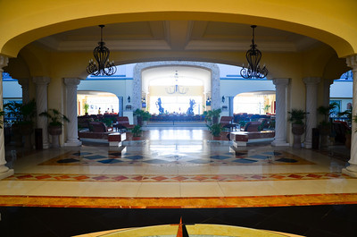 Atrium at The Royal Cancun