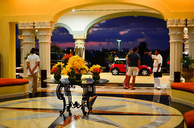 Lobby at The Royal Cancun