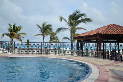 Pool & Palms at The Royal Cancun