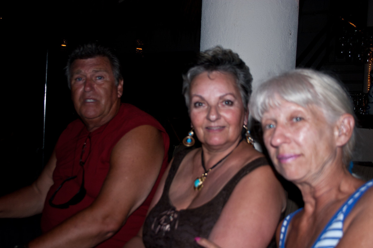 Wayne Anderson, Marie Forrest and Carole Boshell