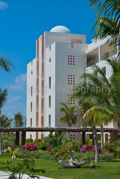Mexican design at a resort