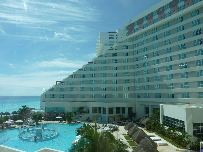 Stayed in Cancun for the first 2 days of the trip - The ME Melia Hotel - View from our Ocean View Room