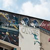 Cinema mural, Cannes, Cote d'Azur.