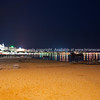 Cannes, night scene along La Croisette.