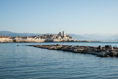 Antibes, Cote d'Azur.