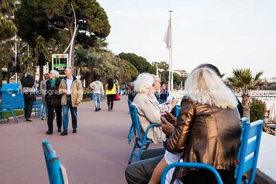The interesting cahracters and people that frequent the La Croisette, Cannes, Cote d'Azur.