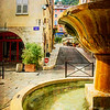 Fountain in Grasse, Frane
