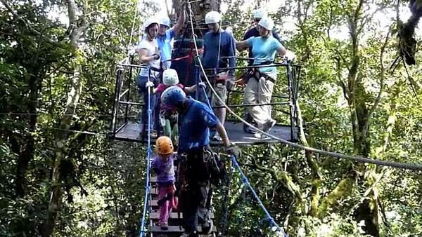 Canopy Tour Monteverde Costa Rica June 2010