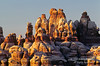 Sunset, Sandstone Formations, The Needles District, Canyonlands National Park, Utah, USA, North America
