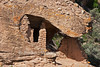 Eroded Boulder House at Hovenweep National Monument. Colorado/Utah, Little Ruins Canyon