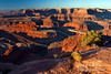 Morning, Dead Horse Point State Park, Canyonlands National Park in Distance, Utah, USA, North America