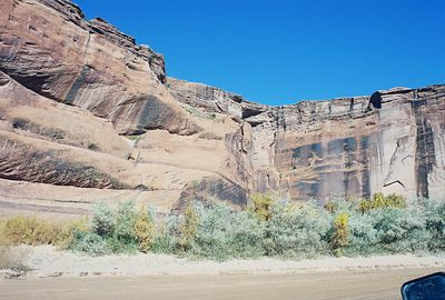 11/13/99 Canyon del Muerto. Canyon de Chelly National Monument. Chinle, Apache County, AZ