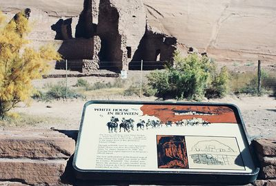 "11/13/99 ""White House,"" Canyon de Chelly National Monument, Chinle, Apache County, AZ"