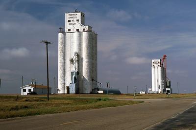 Grain elevators, Conway, Texas. 2003